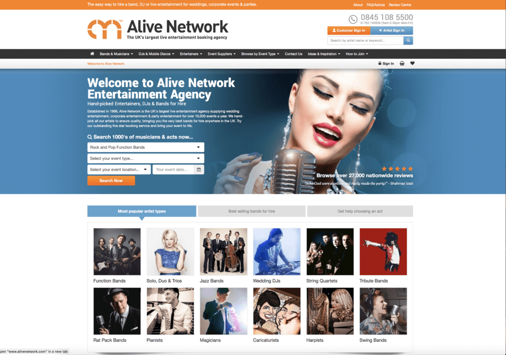 HappY Booths On Alive Network